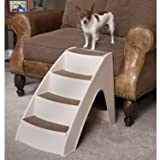 PetSafe Solvit PupSTEP Lite Pet Stairs, Steps for