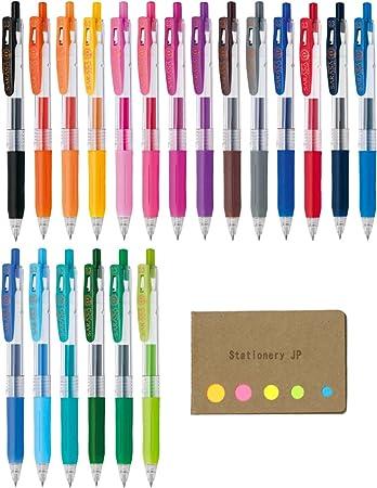 Zebra  Sarasa Clip Pen 0.3 mm Gel Ballpoint Pen 20 Color Select JJH15