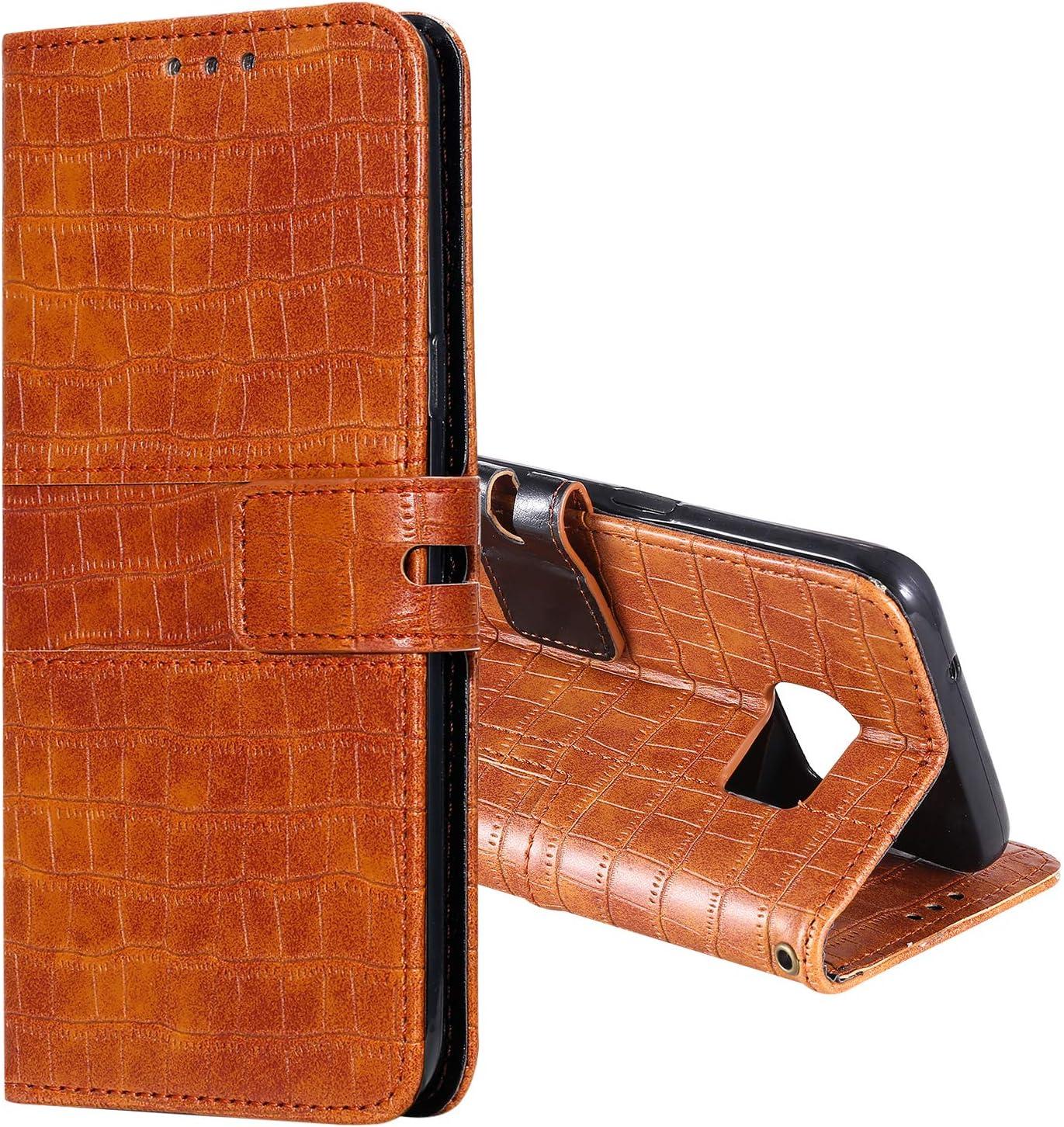 Lomogo Galaxy S7 Edge H/ülle Leder LOHHA140208 Schwarz Schutzh/ülle Brieftasche mit Kartenfach Klappbar Magnetisch Sto/ßfest Handyh/ülle Case f/ür Samsung Galaxy S7Edge//G935F