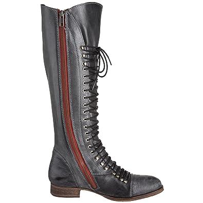 intermitente ensalada Sobrevivir  Buy Steve Madden Men's Perrin Black Leather Boots - 10.5 UK/India (44  EU)(11 US) at Amazon.in