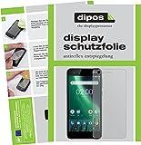 Nokia 2 Schutzfolie - 2x dipos Displayschutzfolie Folie matt