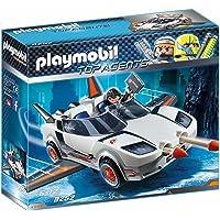 Playmobil 9252 - Veicolo Spia Con Agente P