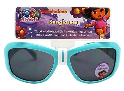 ddd5ca1aecceb Image Unavailable. Image not available for. Color  Dora the Explorer Let s  Hit La Costa! Light Blue Girls Sunglasses