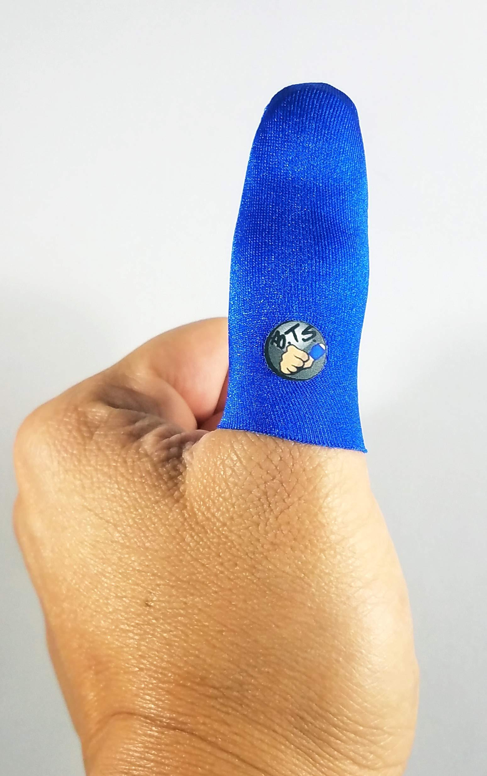 Bowling Thumb Sock BTS (Blue)