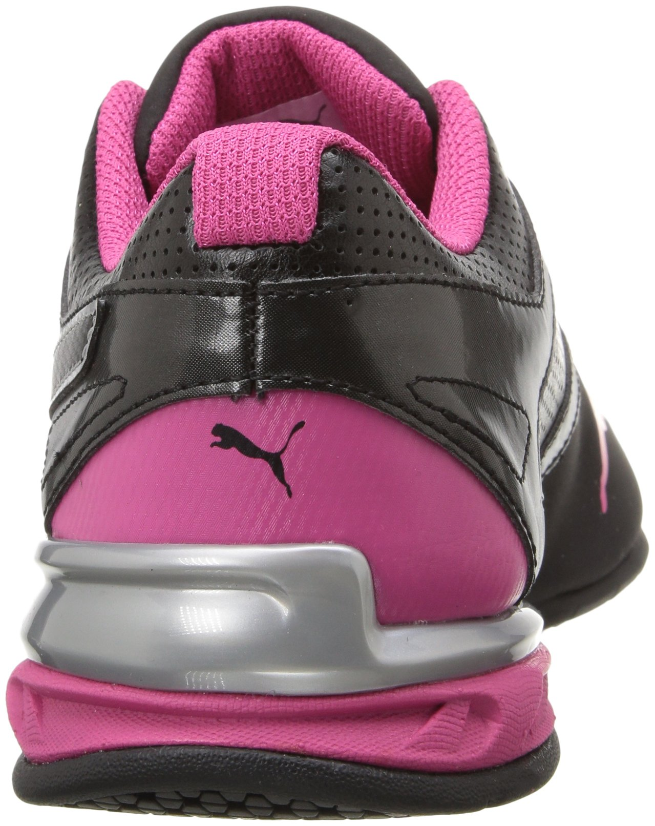 PUMA Women's Tazon 6 WN's fm Cross-Trainer Shoe Black Silver/Beetroot Purple, 7 M US by PUMA (Image #2)