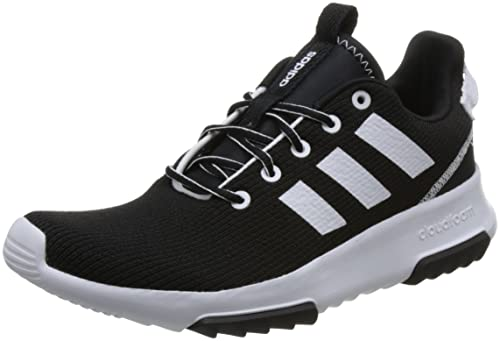 best sneakers f73a9 d4c8a adidas Womens Cloudfoam Racer Tr Competition Running Shoes, Black (Cblack  Ftwwht 000),