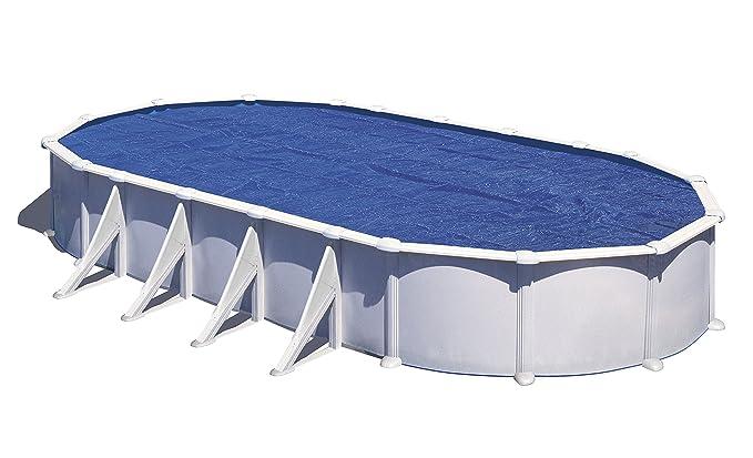 Gre CPROV610 - Cubierta isotérmica para piscinas ovaladas, 610 x 375 cm: Amazon.es: Jardín