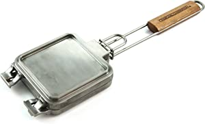 Charcoal Companion CC3135 Cast Aluminum Grilled Cheese Iron