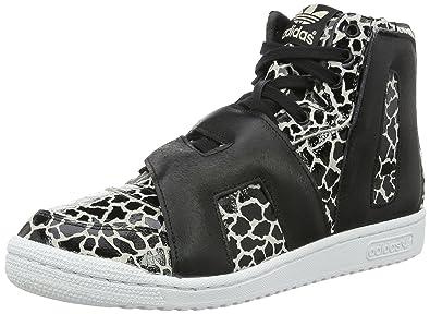 best website 61caf 0ef36 adidas Unisex – Adulto JS Letters Giraffe Sneakers Stringate Nero Size  EU  43 1