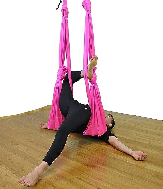 Deluxe Aerial Yoga Hamaca (Yoga Swing Aerial Yoga, unnata, Flying Antigravity)