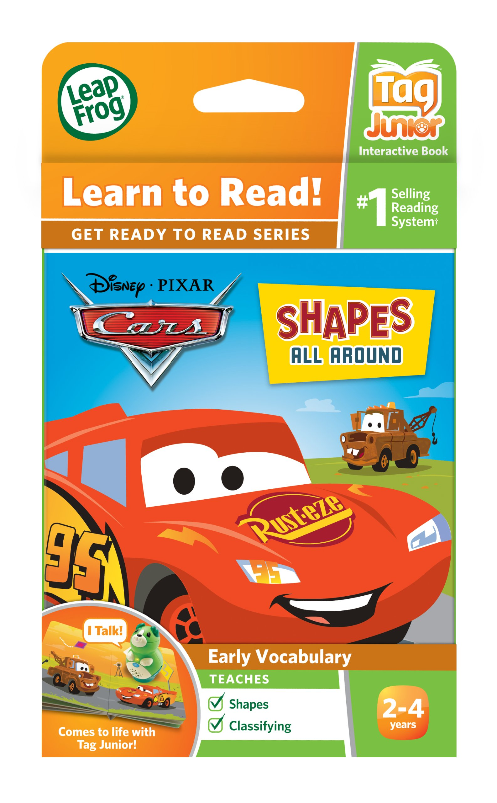 LeapFrog Tag Junior Book Cars Shapes All Around (works with LeapReader Junior) by LeapFrog (Image #4)