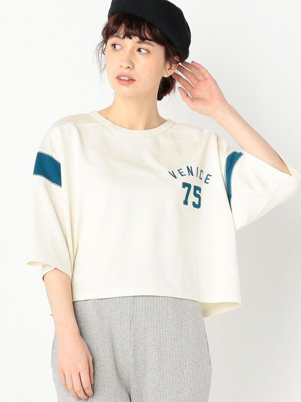 Amazon | (アナザーエディション) Another Edition ナンバーロゴ切り替えTシャツ 56121991997 0300 OFF WHITE(03) FREE | Amazon Fashion 通販