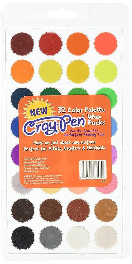 Amazon Com Surebonder Pallette Wax Pucks 32 Color Pallete To Be