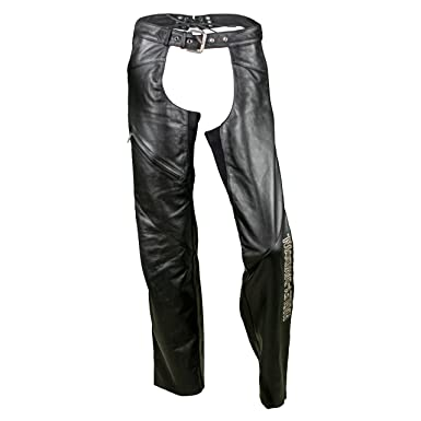 bd6f020cc Harley-Davidson Women's Deluxe Leather Motorcycle Chaps 98097-06VW (Small)