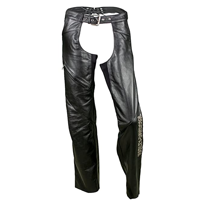 Amazon.com: Harley-Davidson 98097-06VW - Chaps de piel para ...