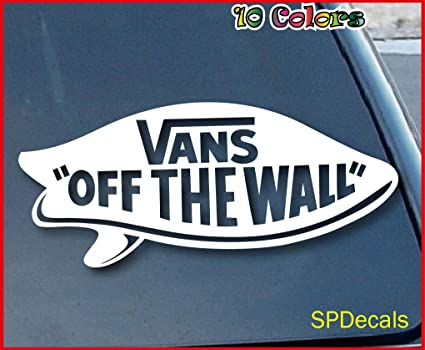vans off the wall decoration