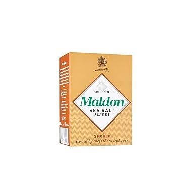 Maldon Smoked Sea Salt Flakes, 4 4 Ounce