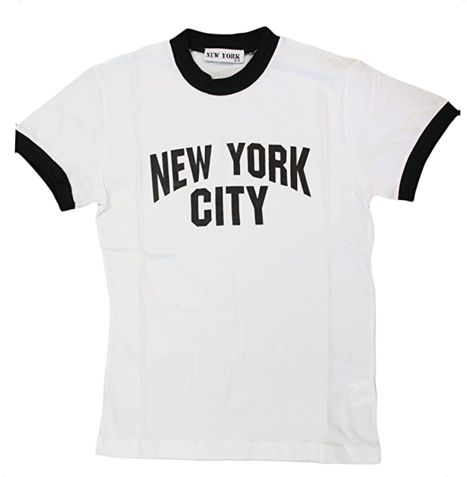 Amazon.com  New York City Kids John Lennon Ringer NYC Boys Beatles T ... eee398c37243