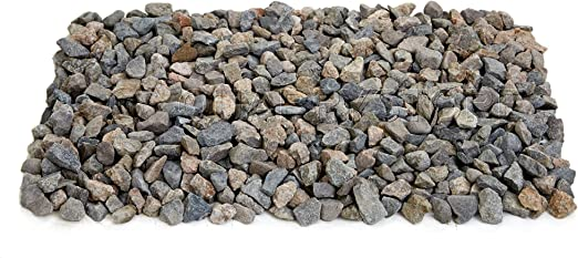 Quarrystore - Piedras decorativas para jardines y proyectos al aire libre, 20 kg, color ámbar y gris: Amazon.es: Jardín