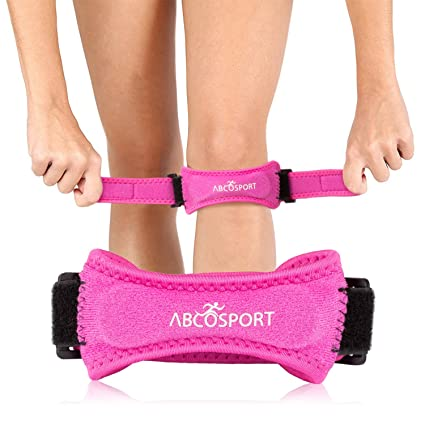 Amazon patella knee strap for knee pain relief for hiking patella knee strap for knee pain relief for hiking soccer basketball volleyball solutioingenieria Images