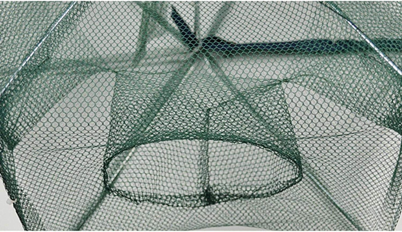Plegable de pesca Camar/ón Minnow Cangrejo cangrejo Red port/átil para peces