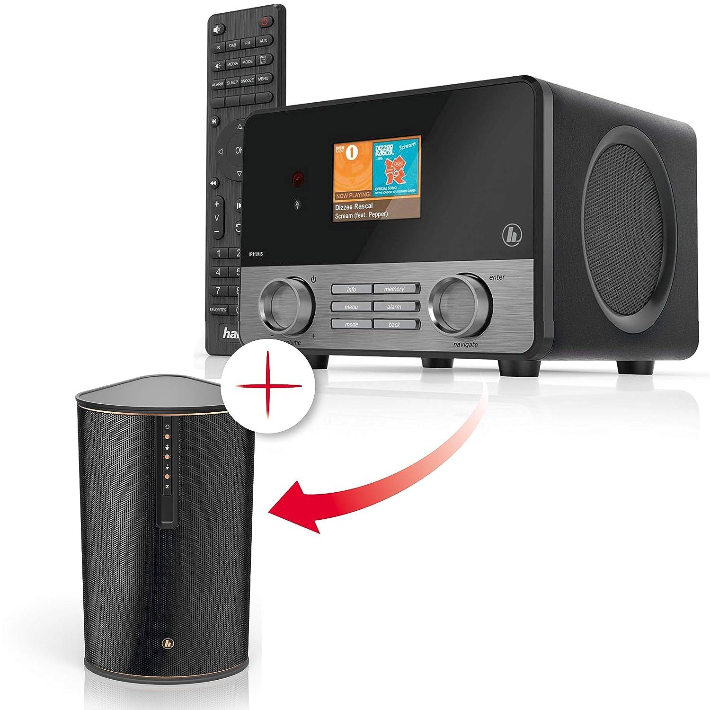 App und Fernbe nung Hama WLAN Lautsprecher IR80MBT Multiroom Erweiterung Musik Streaming 30W Speaker Amazon Heimkino TV & Video