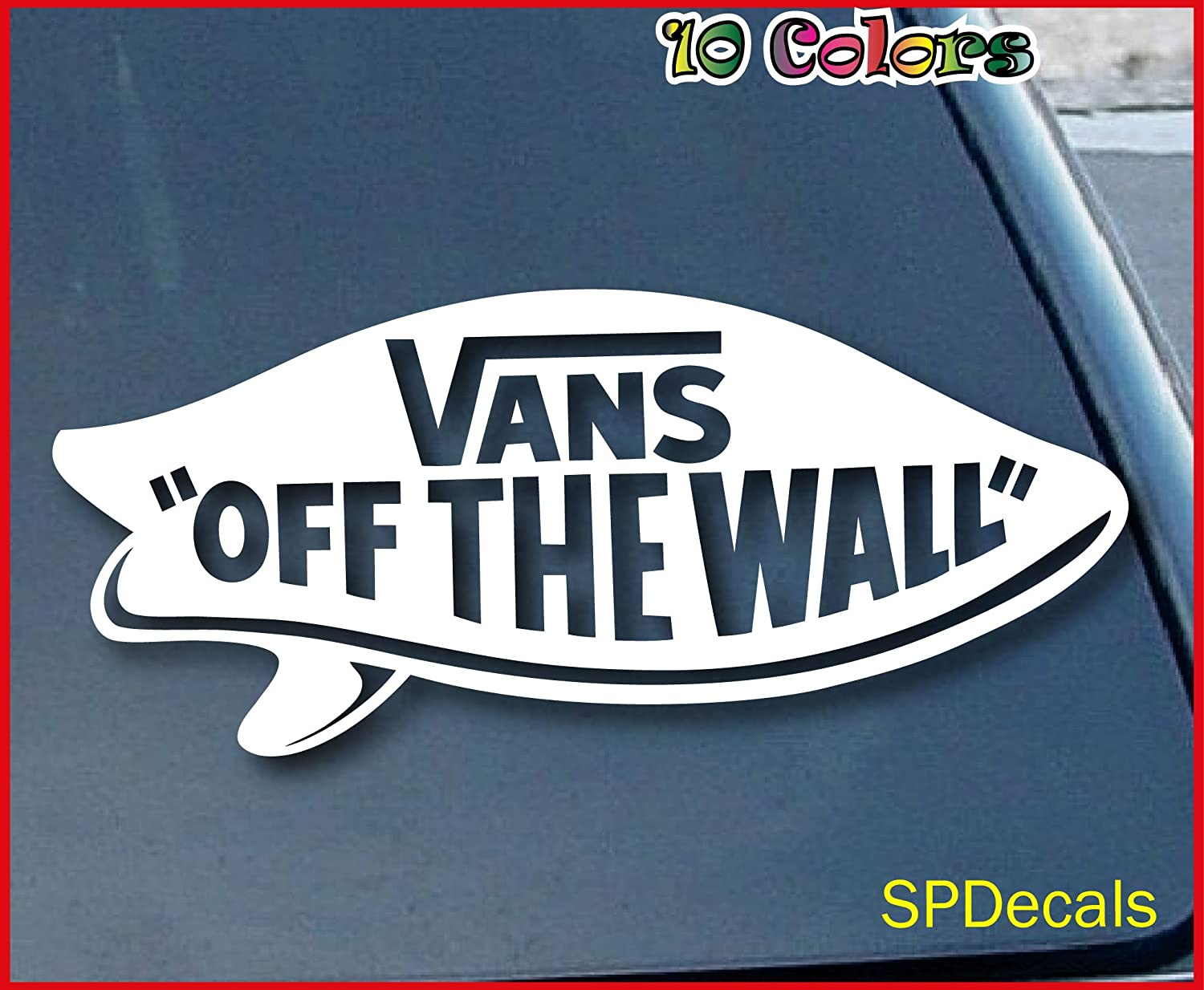 vans off the wall skateboard surfing car window vinyl decal vans off the wall skateboard surfing car window vinyl decal sticker 6