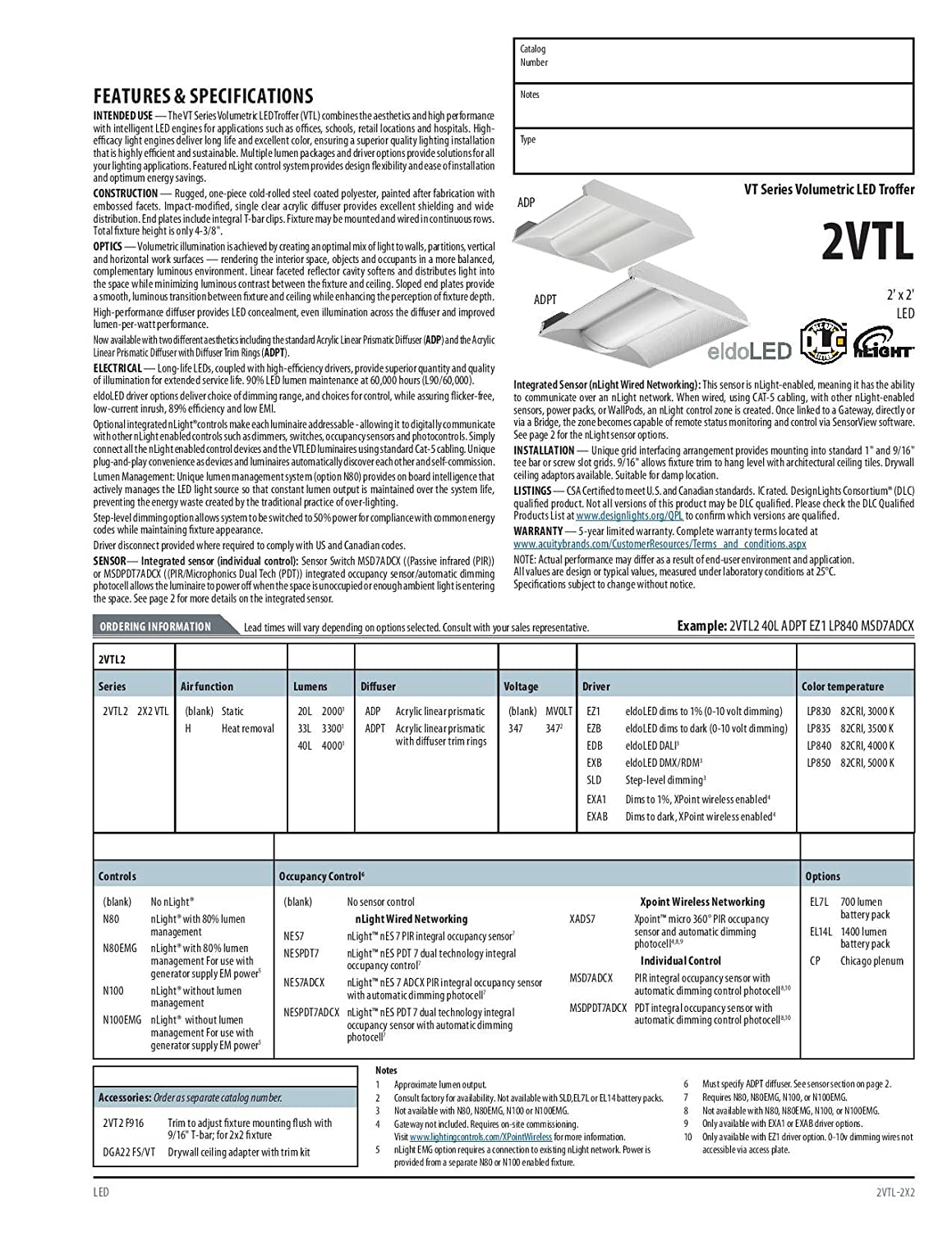 Lithonia Lighting 2vtl2 33l Adp Ez1 Lp835 Led Volumetric Nlight Wiring Diagram Architectural Troffer With Acrylic Diffuser 3500k 3300 Lm 2 By White Home