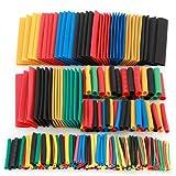 ZITFRI 328-tlg. Schrumpfschlauch Set Schrumpfschläuche Sortiment farbig Heat Shrink Tube Wire Wrap Assortment