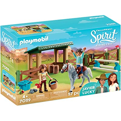 PLAYMOBIL Spirit Riding Free Riding Arena with Lucky & Javier: Toys & Games
