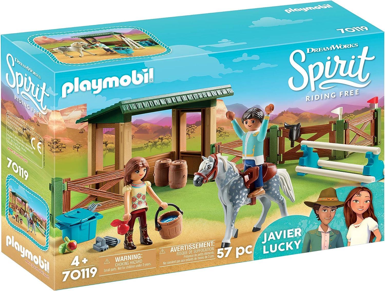 Playmobil Spirit Riding Free Riding Arena with Lucky & Javier