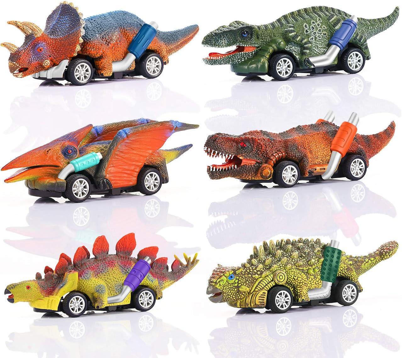 ATOPDREAM Juguetes Niños 2-8 Años, Juegos Niños 2 3 4 5 Años Dinosaurio Juguete Coche Regalos Niños 2 3 4 5 6 7 8 Años Regalos de Cumpleaños para Niños