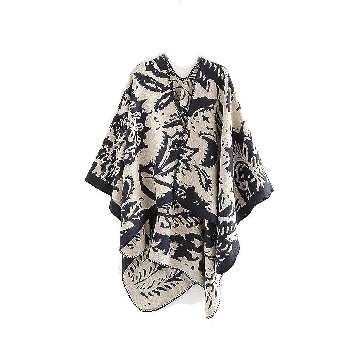 7a302bce8fb Femme Fille ramures Extra Large Très Épais Écharpe Wrap Châles Etole Ponchos