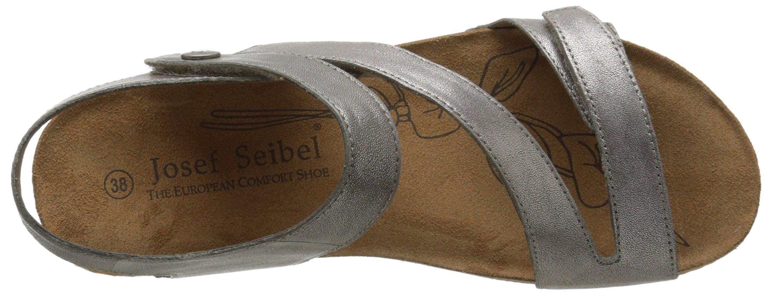 Josef Seibel Women's Tonga 25 dress Sandal, Cristal, 41 EU/10-10.5 M US by Josef Seibel (Image #8)