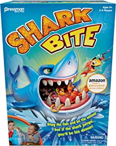 Shark Bite w/ Bonus Let's Go Fishin' Card Game (Amazon Exclusive)