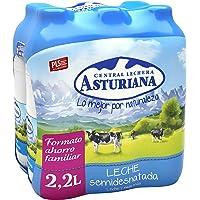 Central Lechera Asturiana Leche Semidesnatada - Paquete