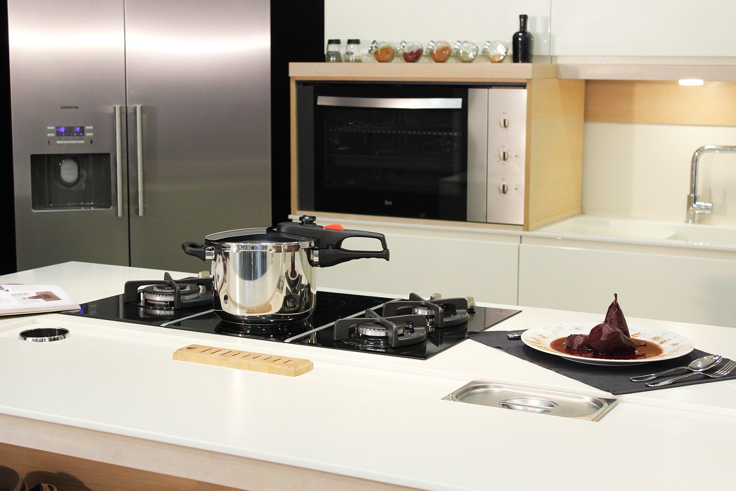 Magefesa Practika Plus Stainless Steel 8 Quart Super Fast Pressure Cooker