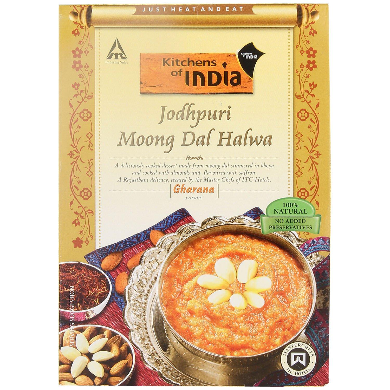 Kitchens Of India Jodhpuri Moong Dal Halwa, 250g: Amazon.in: Grocery U0026  Gourmet Foods
