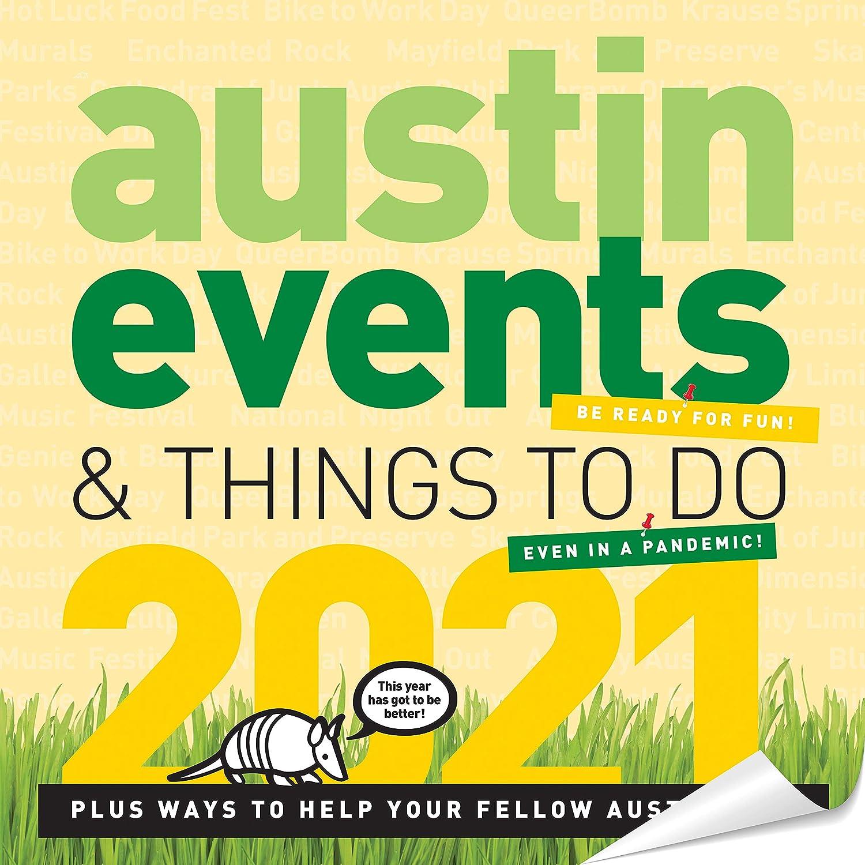 Austin Calendar 2021 Wallpaper