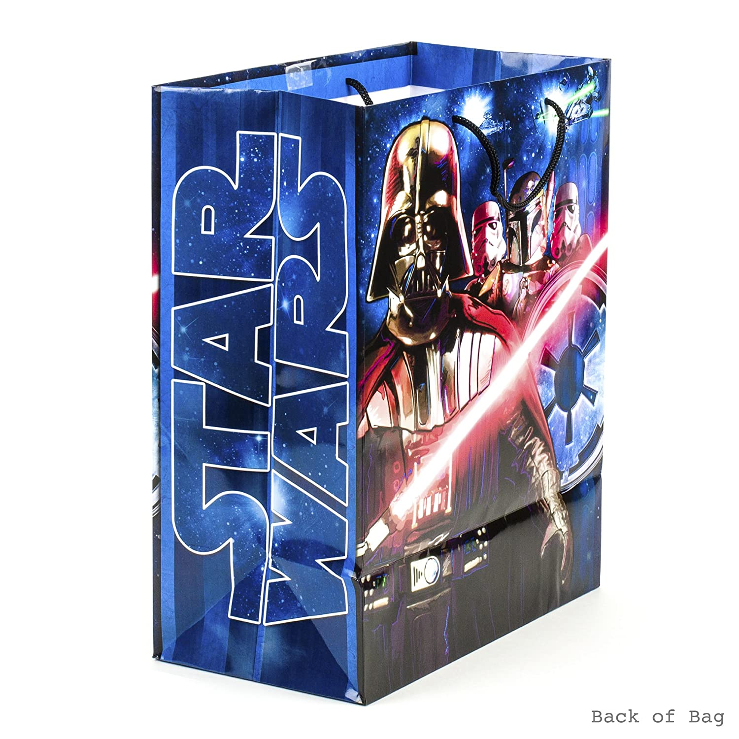 Star Wars Classic Hallmark Large Gift Bag with Birthday Card and Tissue Paper