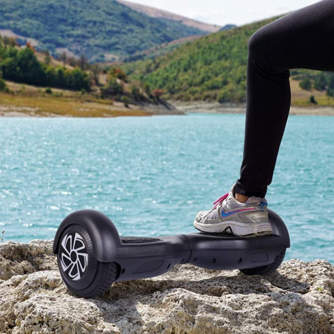 Amazon.com: YHR Hoverboard - Patinete eléctrico de 2 ruedas ...