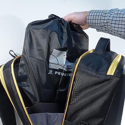 Peugeot 250307 Performer mochila técnica de poliéster para taladro/zapatos, gris, ...