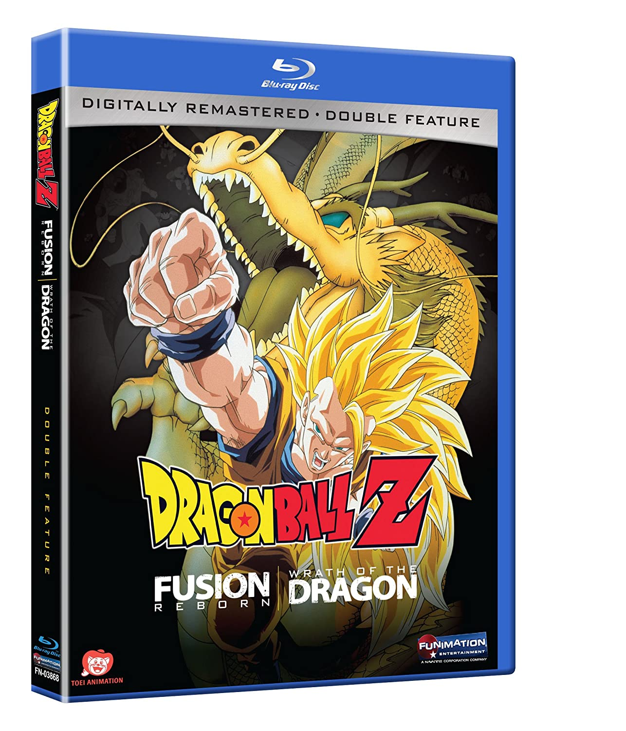Dragon Ball Z: Movie Double Feature [Blu-ray] Not Available Funimation! Unidisc 5215162 Anime / Japanimation