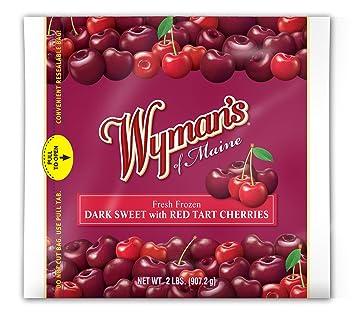 Wyman's of Maine Dark Sweet with Red Tart Cherries, 32 oz (frozen)