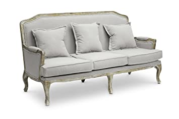 Elegant Amazon.com: Baxton Studio Constanza Classic Antiqued French Sofa: Kitchen U0026  Dining