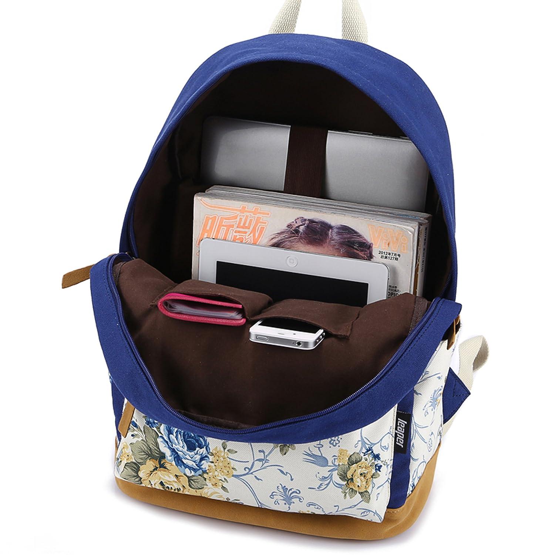 ecocity canvas travel laptop backpacks super cute school bookbags