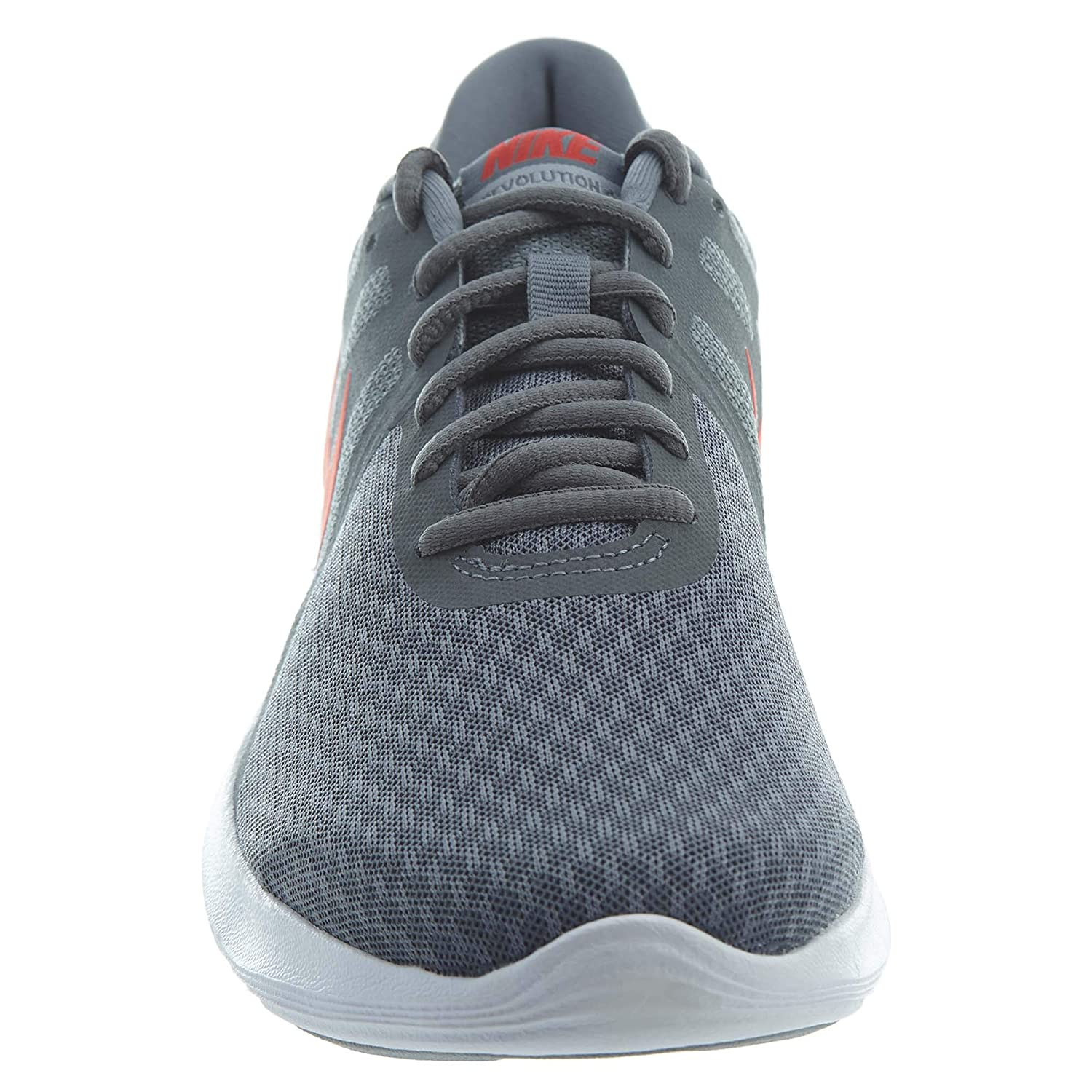 21e05ceb27a76 NIKE Men s Revolution 4 Cool Grey Habanero Red - Wolf Grey - White Running  Shoes 908988-013  Buy Online at Low Prices in India - Amazon.in