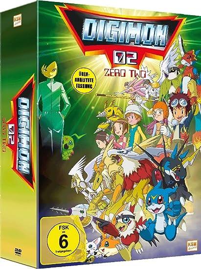 Digimon Adventure 02 im Sammelschuber - New Edition - Volume 1: Episode 01-17 Alemania DVD: Amazon.es: Kakudou, Hiroyuki: Cine y Series TV
