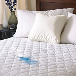 Sunbeam Heated Mattress Pad | Water-Resistant, 10 Heat Settings, King