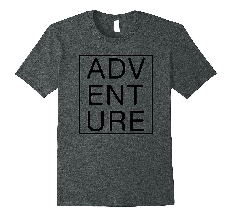 CRAVES ADVENTURE Shirt. Box Logo Adventure T-Shirt-T-Shirt